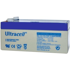 ULTRACELL 12V 3.4AH