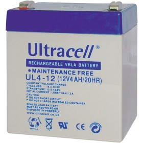 ULTRACELL 12V 4AH