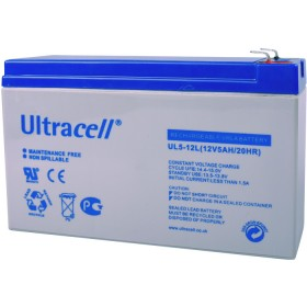 ULTRACELL 12V 5 AH 15x5x9.5